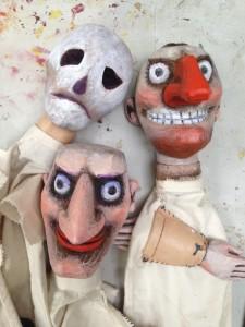 Dead Dog - Glove puppets